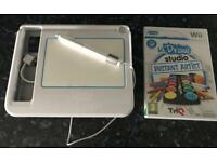 Nintendo Wii U Draw art Studio Tablet and game