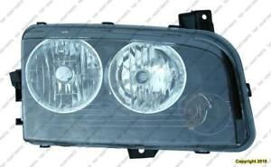 Head Light Driver Side Halogen [From 11/06/2006 To 2010] Dodge Charger