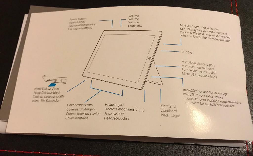 Microsoft surface 3 64gb