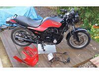1983 Kawasaki GPZ750A Black 22646 Miles Classic Bike Project Restoration