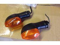 motorbike front blinkers genuine yamaha r1 14b 09>14