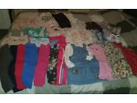 3 to 4 bundle of girls clothes