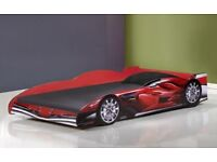 3ft Red racing car bed