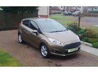 Ford Fiesta 1.25 Zectec, 2014 Reg, only 5678 miles, £6990