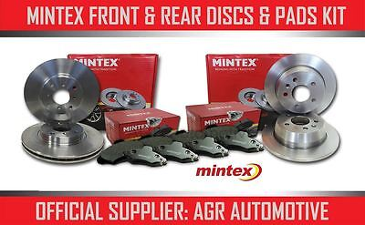 MINTEX FRONT + REAR DISCS AND PADS FOR TOYOTA YARIS VERSO 1.4 D 2002-04