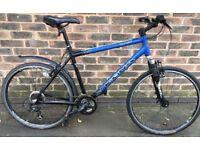 19 inch Kona Blast MTB aluminium Adults hybrid bike bicycle