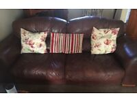 Two Large 4 seater sofas