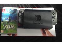 Nintendo Switch Boxed with Zelda BOTW