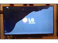 "LG TV 43"" smart 3D Tv on sale (screen damaged ) negotiable"
