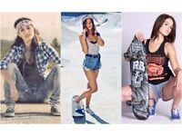 Skate Girl photoshoot event
