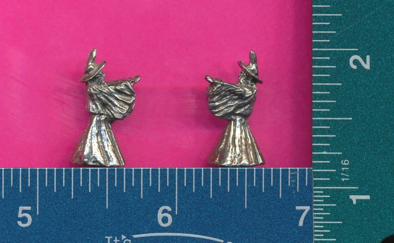 100 wholesale lead free pewter wizard figurines m11096