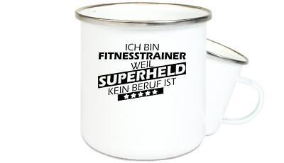 Geschenkideen für jeden Anlass, Ich bin Fitnesstrainer weil Superheld kein Beruf