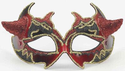 Devil Maskenball Herren Erwachsene Halbschuhe Maske Kostüm