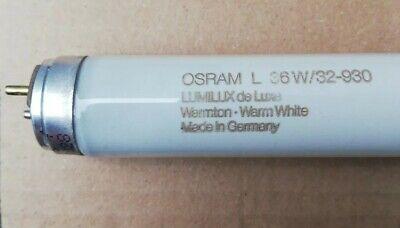 OSRAM LUMILUX DELUXE WARMTON LEUCHTSTOFFLAMPE T8 L36W 32 930 LUMILUX G13 1200MM