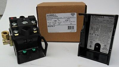 Brand New Furnas Hubbell Pressure Switch For Air Compressor 69jf9ly 140-175