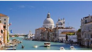 April 26-30  hotel in San Marco, Italy..... huge discount