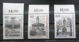 BERLIN 1980 Mi 634-636 Berlin Ansichten Postfrisch / MNH - <span itemprop='availableAtOrFrom'>Wien, Österreich</span> - BERLIN 1980 Mi 634-636 Berlin Ansichten Postfrisch / MNH - Wien, Österreich