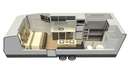 Condor Ultimate Family 21ft Signature Semi Off-road Caravan Bundaberg South Bundaberg City Preview