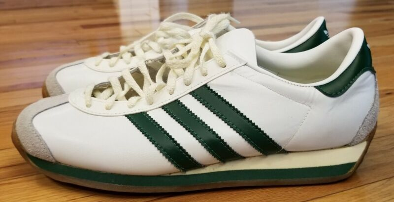 Vintage Adidas Country Sneakers Made In France size 8