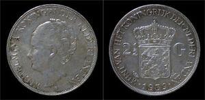 Netherland-Wilhelmina-I-2-1-2-gulden-rijksdaalder-1939