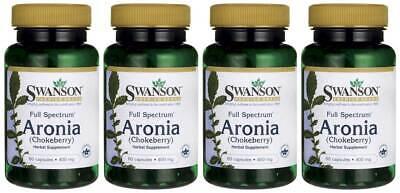 Full Spectrum Aronia (Chokeberry) 400mg 240 Caps Antioxidant + Bonus - Full Spectrum Antioxidant