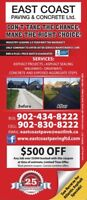 East Coast Paving Booking Spring Fast (coupon available)