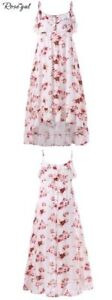 new in package high low floral dress