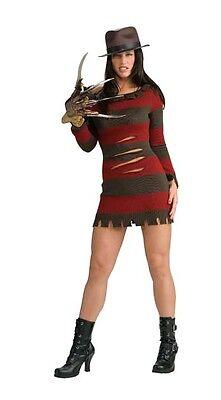 Freddy Krueger Sexy Female Adult Women's Costume - Multiple Sizes Available](Freddy Krueger Female Costume)