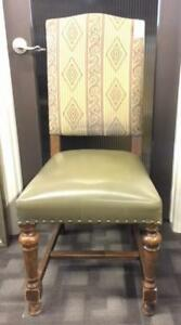 Banff Hotel Chair.  Solid Wood.  Variety of Fabrics.  CLEARANCE PRICED AT $65  each