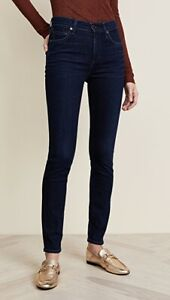 Citizens of Humanity Dark Wash Rocket Jeans