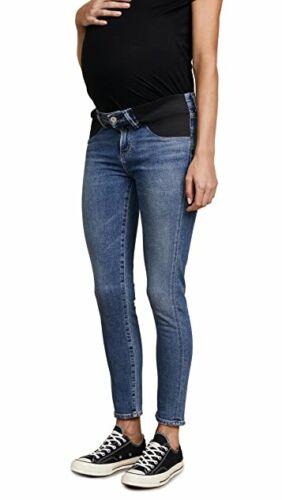 Citizens Of Humanity Womens Blue Denim Maternity Jeans Size 28 Avedon Skinny