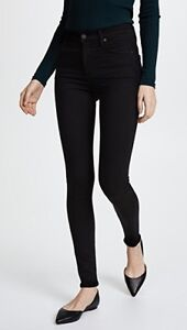 Citizens of Humanity Rocket Sculpt Skinny Jeans  - 25  All Black