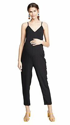 Maternity Hatch Collection GEORGIE JUMPER Size 1 Black Retail $278