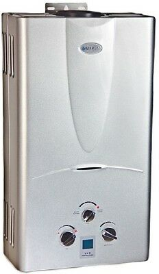 Tankless Hot Water Heater Natural Gas NG 4.3 GPM Marey On-Demand Whole House -