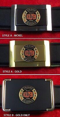 Texas Hold'em - Custom Belt Buckle