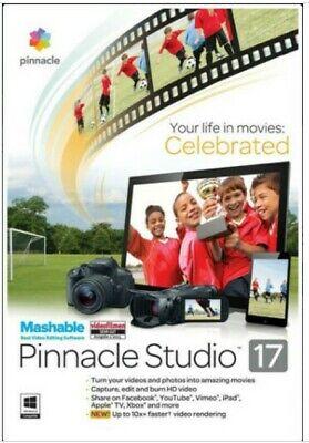 Pinnacle Studio 17 Video Editing Software PC