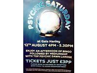 Psychic Saturday at Gala Bingo Hanley