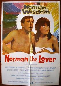 Norman-the-Lover-Norman-Wisdom-Original-Lebanese-Movie-Poster-60s