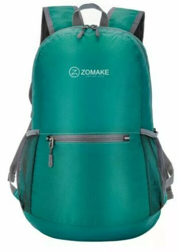 ZOMAKE Green Ultra Lightweight Packable Backpack H2O Resistant Hiking Daypack Camping & Hiking
