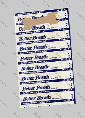 100 LARGE NASAL STRIPS for Reducing Snoring & to Help Breathe Better Right