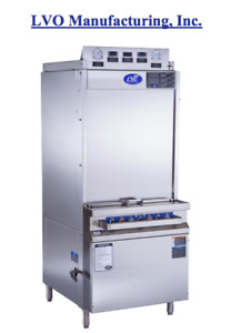 LVO FL10 Gas Powered Front Loading CommercialPan Washer - NEW!