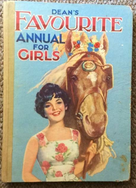 Vintage 1960 Book Dean S Favourite Annual For Girls