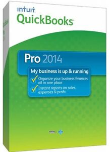 Quickbooks Pro 2014 (3 installs) Includes free upgrade to Premier and Accountant