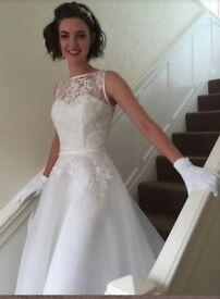 Mid-length Wedding Dress