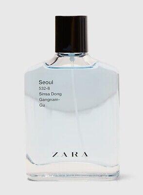 ZARA SEOUL SINSA DONG GANGNAM for MEN * 3.4 oz (100ml) EDT Spray * NEW & UNBOXED