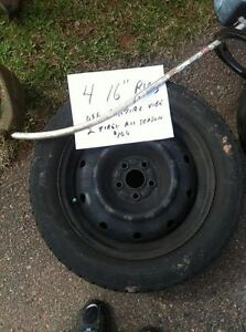 For Sale 4 16 inch rims - 5 bolt