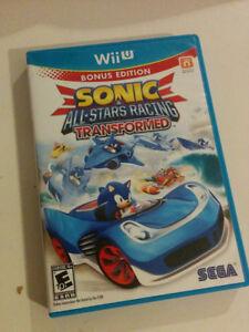 Sonic All-Stars Racing Transformed Wii U