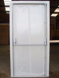 New fire exit steel security doors, heavy duty £290