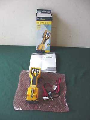 New Fluke Networks Ts22 Telephone Lineman Test Set W Angled Pin Clips 22800001