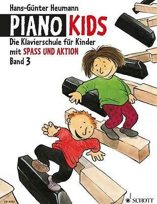 Piano Kids Band 3 - Heumann - Klavierschule für Kinder - Schule für Klavier